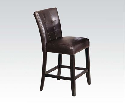 Picture of Danville 2 pcs. Brown Counter Height Chair by    (Set of 2)
