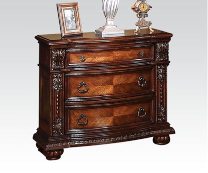 Picture of Nathaneal Traditional Tobacco Night Stand