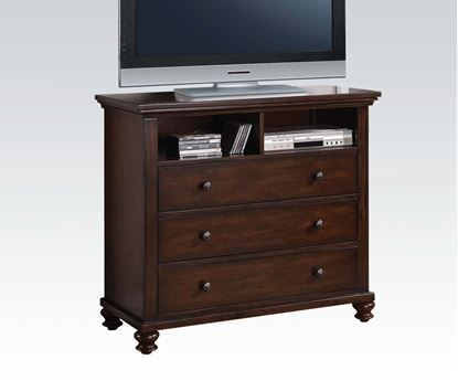 Picture of Aceline Transitional Cherry  Media Chest