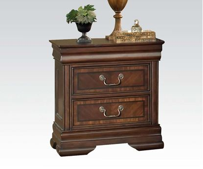 Picture of Hennessy Brown Cherry Finish Nightstand