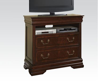 Picture of Hennessy Brown Cherry Finish TV Chest