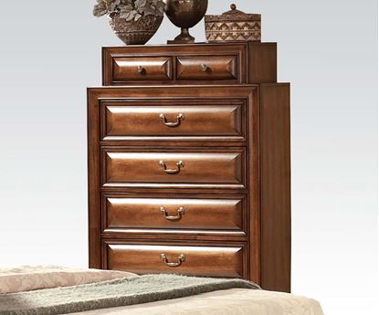 Picture of Konance Brown Cherry Finish Bedroom Chest