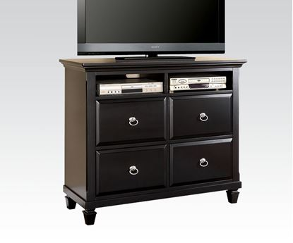 Picture of Traditional Black Merivale Media Chest