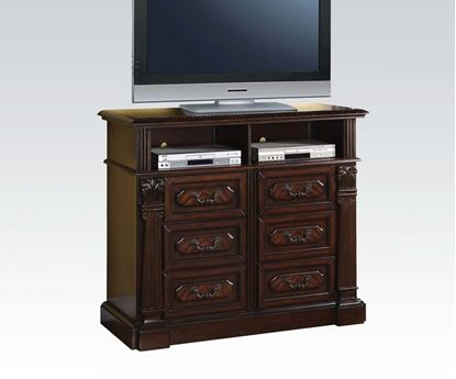 Picture of Roman Empire Cherry Finish Media Chest