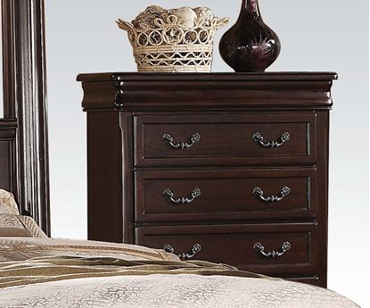 Picture of Roman Empire II Dark Cherry Carving Chest with Drawers