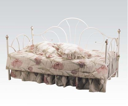 Picture of Provence White Day Bed w/ Porcelain Knobs