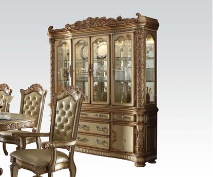 Picture of Vendome Gold Hutch & Buffet