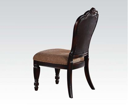 Picture of Le Havre 2 Pcs. Two Tone Brown Side Chair    (Set of 2)