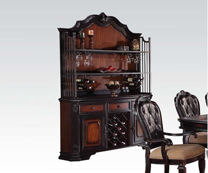 Picture of Le Havre Buffet & Hutch Two Tone Brown