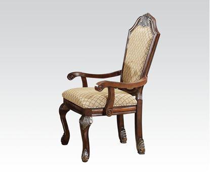 Picture of Chateau De Ville Espresso 2 pcs Arm Chair by   (Set of 2)