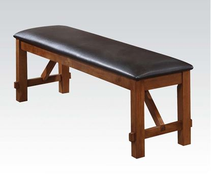Picture of Appollo Distressed Oak Dining Bench