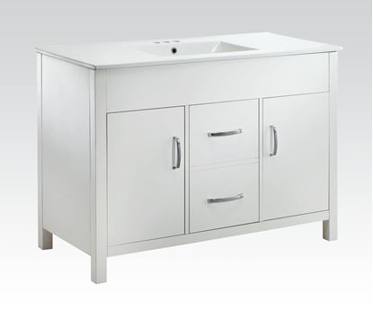 Picture of White Marble Sink W/P2