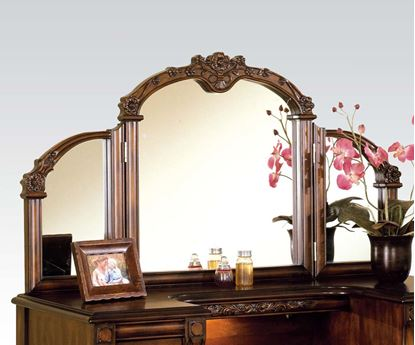 Picture of  Ashton Vanity Mirror, Oak Finish