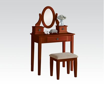 Picture of Cherry Vanity Set