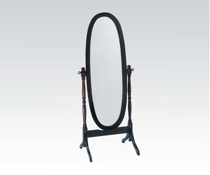 Picture of Fynn Cherry Frame Cheval Mirror