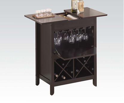 Picture of Leo Wine Cabinet in Wenge