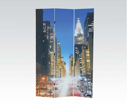 Picture of 3 Panel Wooden Screen  W/P2