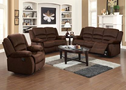 Picture of Bailey Chocolate Living Room Set