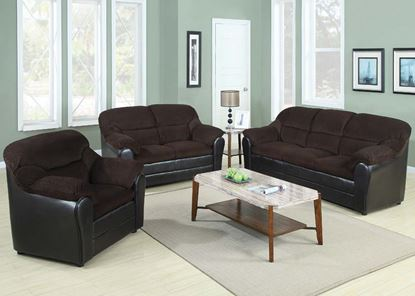 Picture of Connell Chocolate Living Room Set