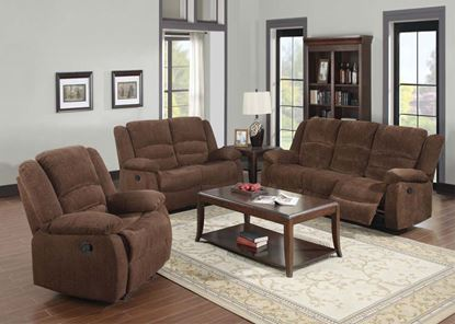 Picture of Bailey Dark Brown Living Room Set